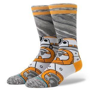 🆕 Stance Star Wars BB-8 BB8 Droid Crew Socks